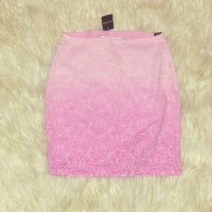 NWT🏷 Abercrombie Girls Lace ombré Lined skirt M